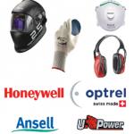 DISPOSITIVI DI PROTEZIONE INDIVIDUALE HONEYWELL OPTREL ANSELL U-POWER